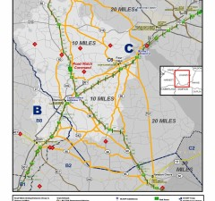 Special Operational Handout Map